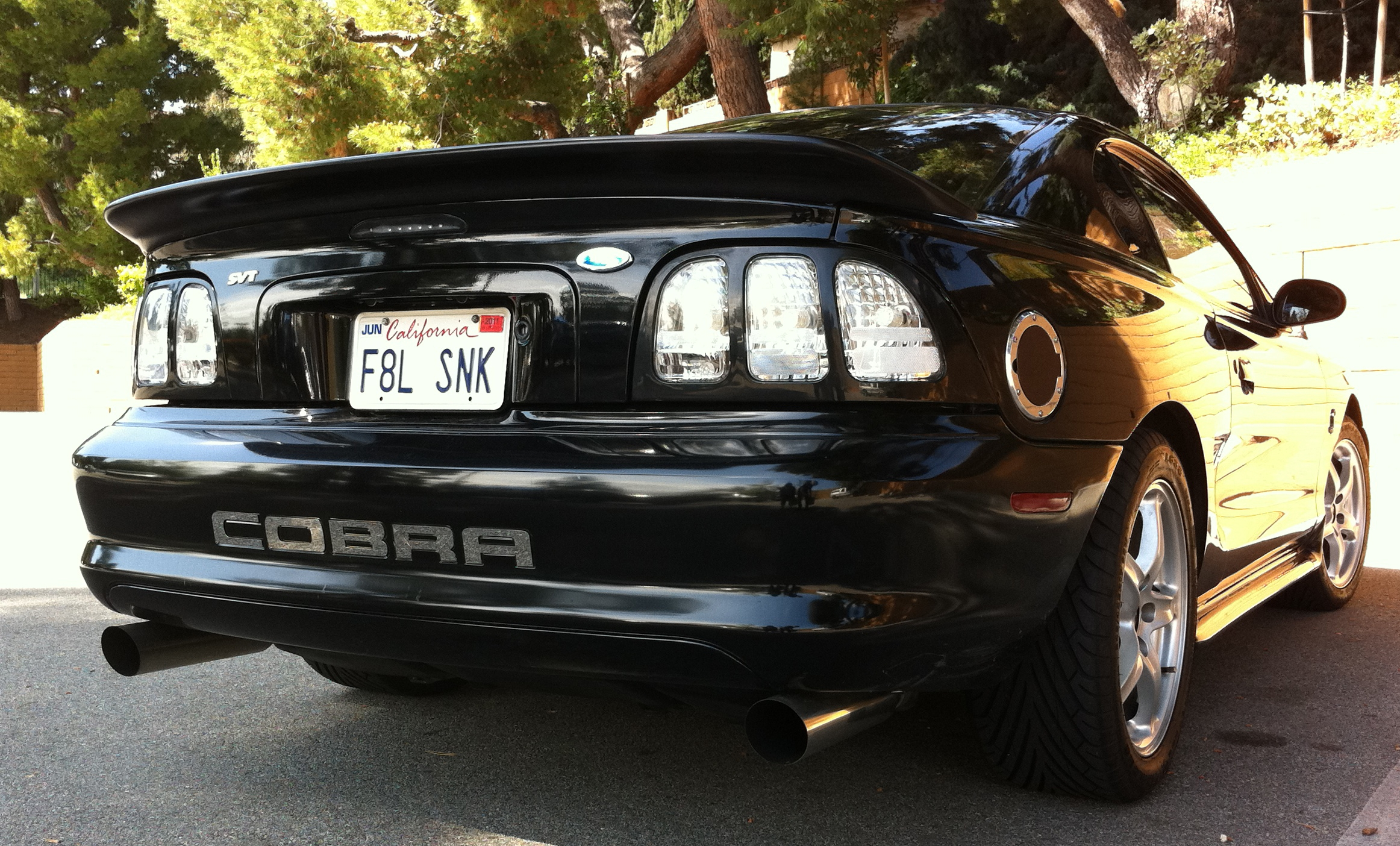 Fatalsnake 1998 ford mustangcobra coupe 2d specs photos