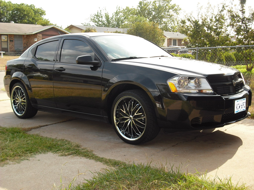 J-RED21 2009 Dodge Avenger
