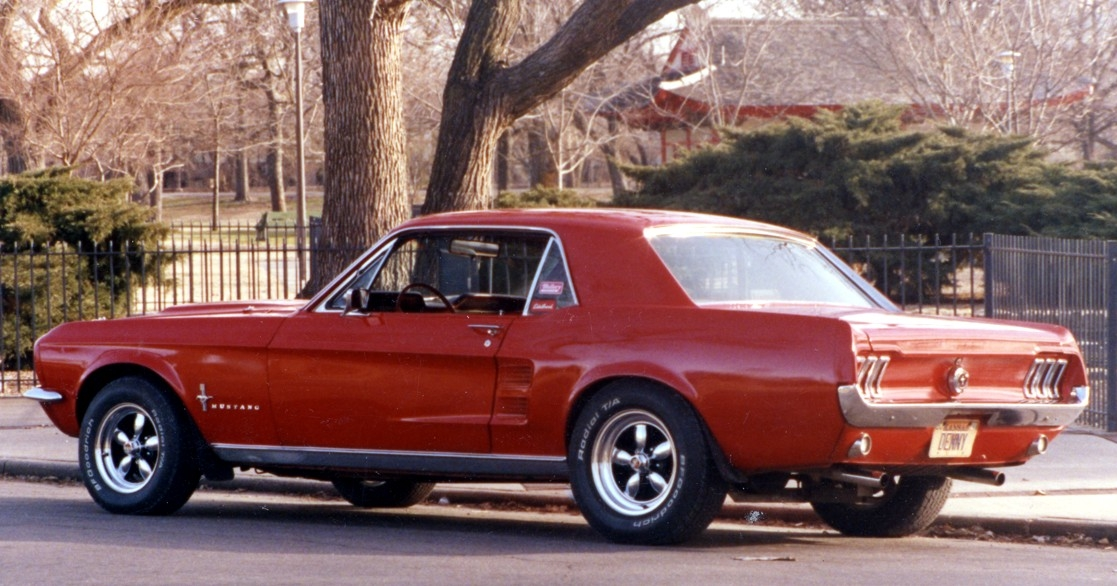 KCode289 1967 Ford Mustang