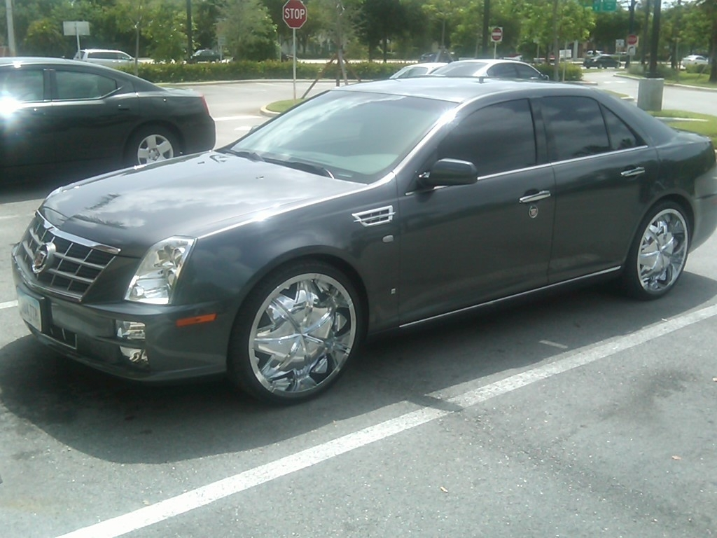 d lac 2008 cadillac sts specs photos modification info. Black Bedroom Furniture Sets. Home Design Ideas