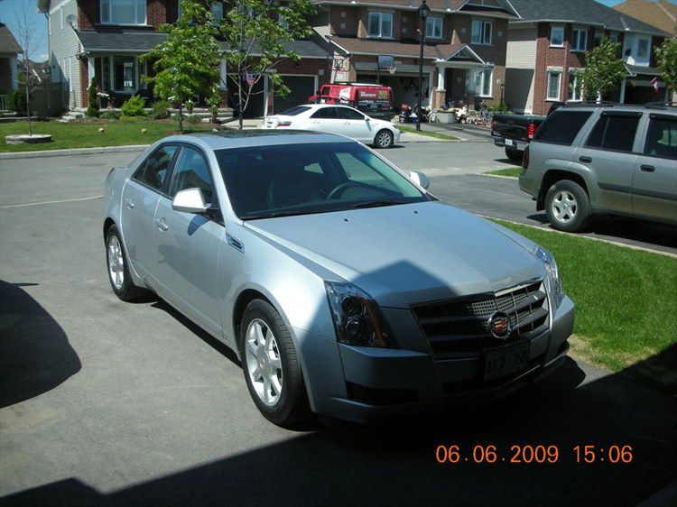 slvrcts 39 s 2009 cadillac cts in otawa on. Black Bedroom Furniture Sets. Home Design Ideas