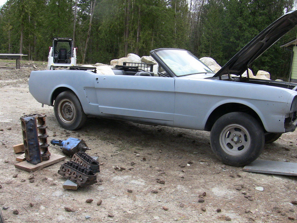 vertible's 1964 Ford Mustang