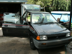 MissingPartss 1989 Ford Festiva