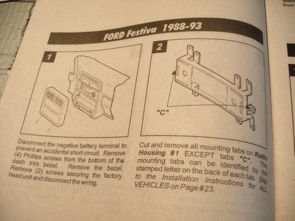 Missingparts 1989 Ford Festiva Specs Photos Modification Info At Wiring Diagram For 1988 33633430085 Large