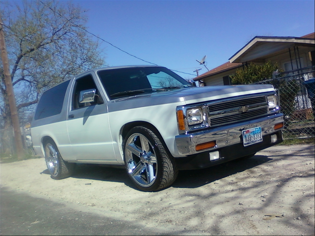 zero 71 39 s 1991 chevrolet s10 blazer in san antonio tx. Black Bedroom Furniture Sets. Home Design Ideas