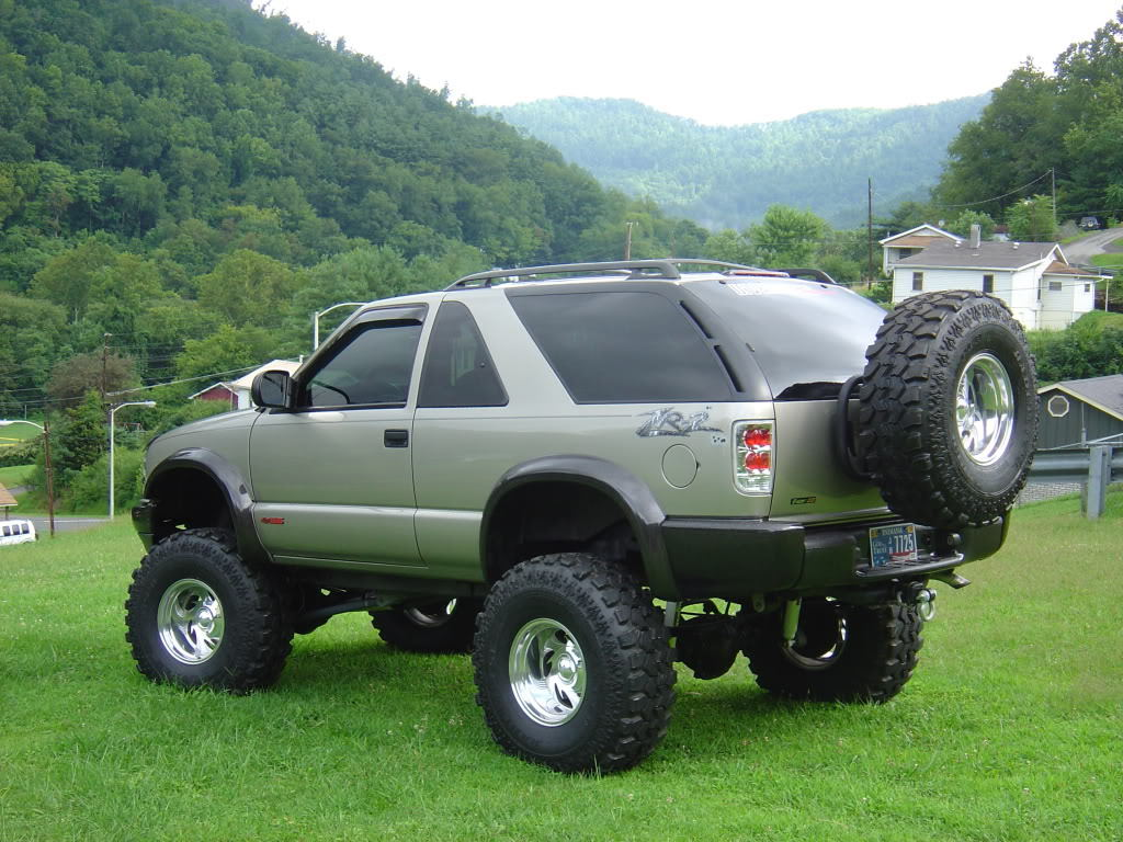 lifted zr2 blazer image collections