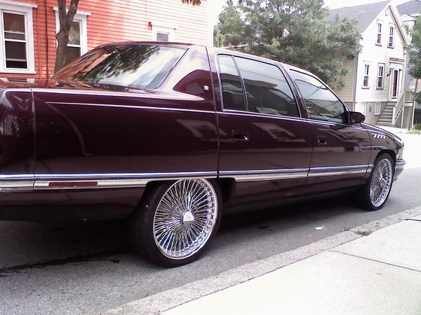 Large on 1996 Cadillac Deville