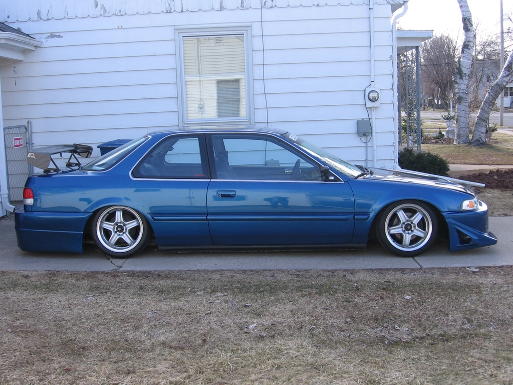 1991 honda accord coupe weight