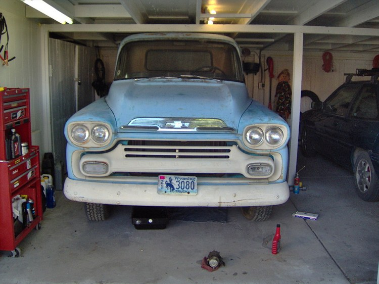 mikebte's 1959 Chevrolet Apache