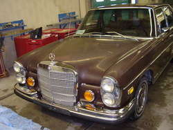 curkey 1972 Mercedes-Benz 280SE