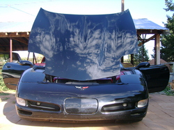 99CougarXR-7s 1997 Chevrolet Corvette