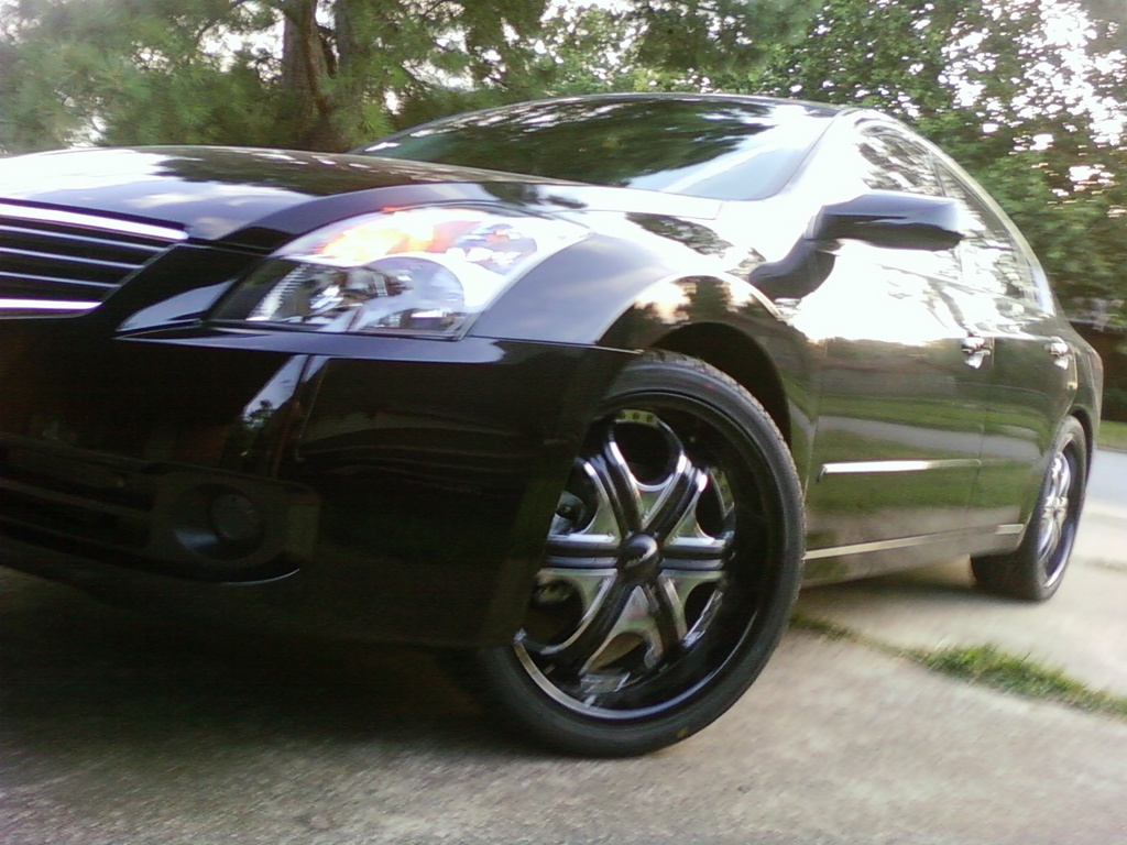 Nissan Altima 2009 Black