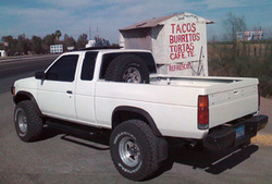 ariccis 1987 Nissan D21 Pick-Up