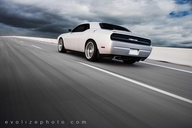 Dodge Challenger Blackout. covers on my Challenger,