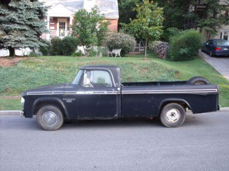 1967 Dodge D150 Club Cab