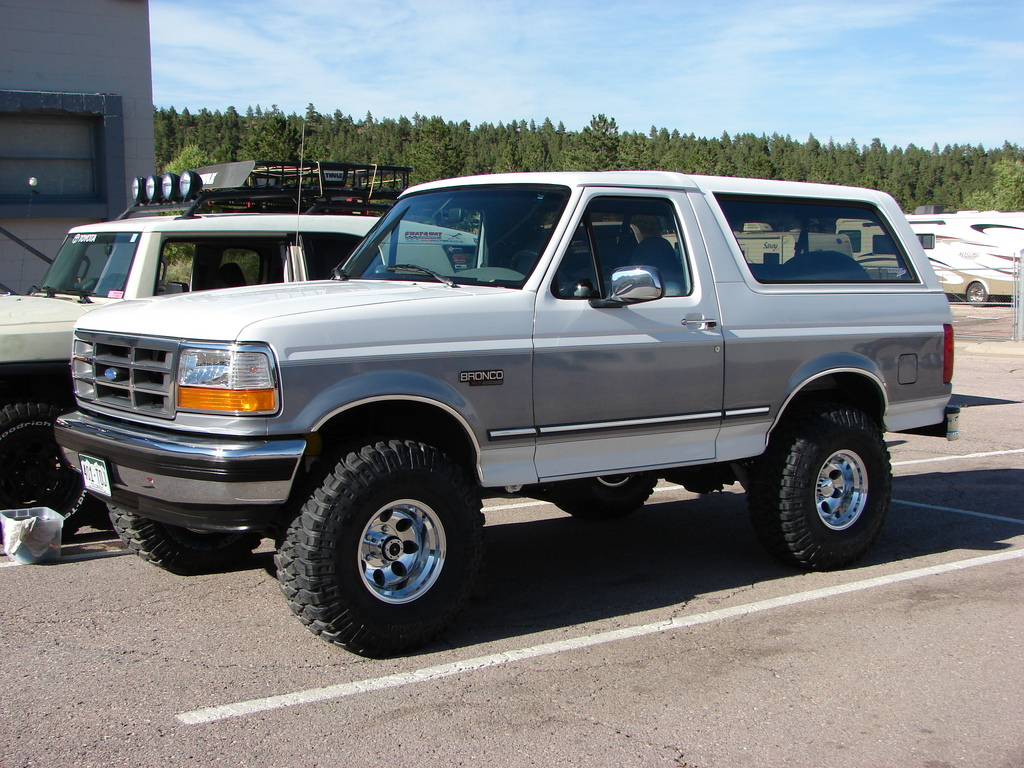 03fx4af 1995 Ford Bronco Specs Photos Modification Info