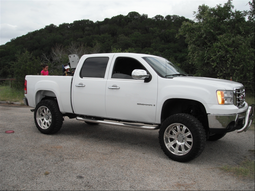 2008 GMC Sierra Lifted