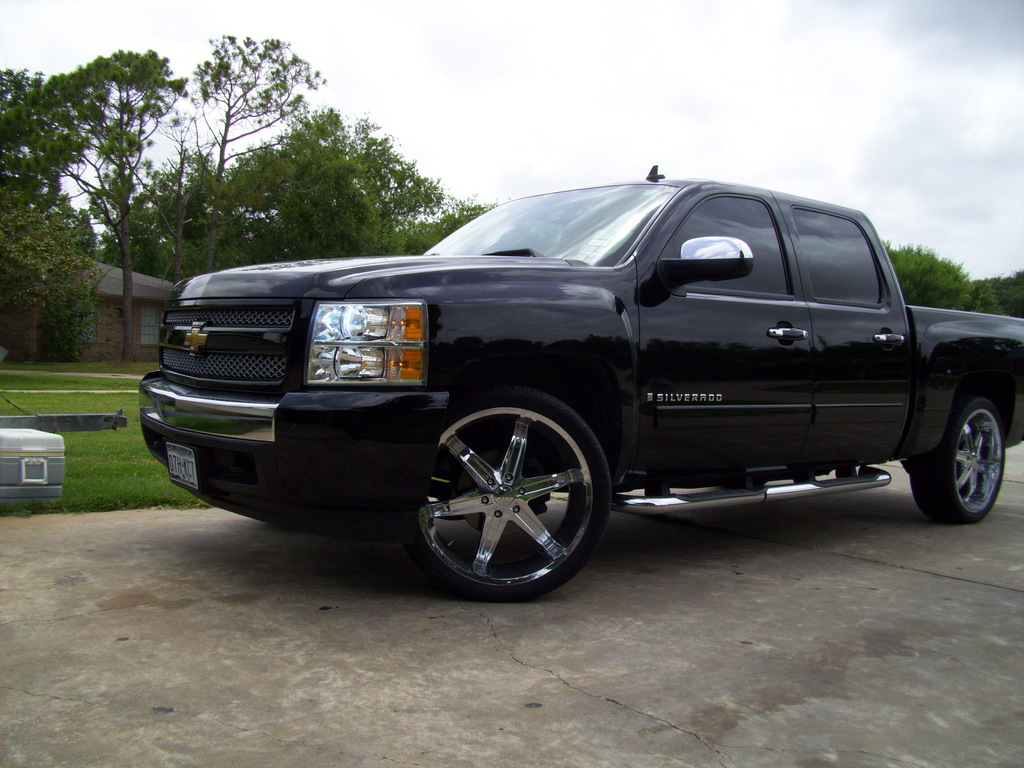 southernluxury 2008 chevrolet silverado 1500 regular cab specs photos modification info at. Black Bedroom Furniture Sets. Home Design Ideas
