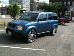 baggedfrontier 2006 Honda Element