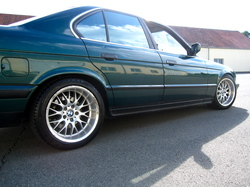 Cowart_E34 1992 BMW 5 Series