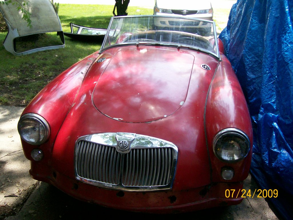 Another wolfeman1608 1957 MG MGA post... - 13452185