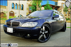 Saudi_Exits 2007 BMW 7 Series