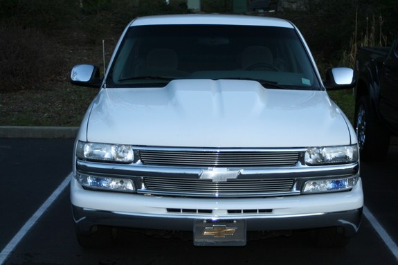 Loweredsilverado 2000 Chevrolet Silverado 1500 Regular Cab