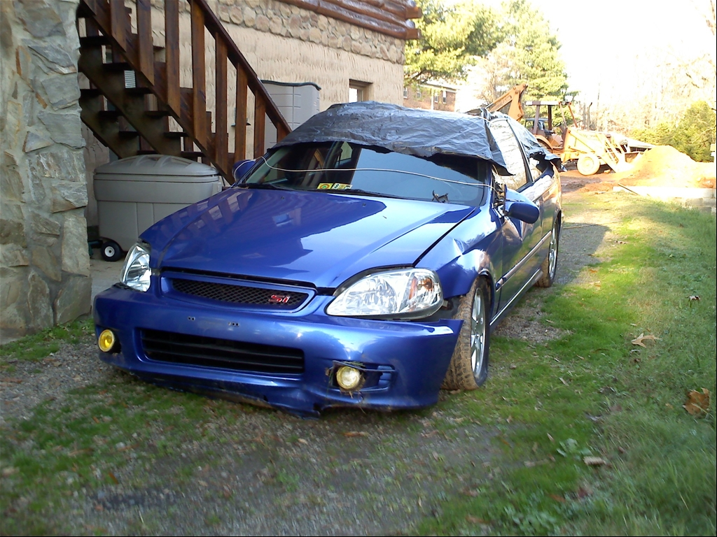 """2000 Honda Civic """"00 Civic Si Daily Driver"""" - Collinsville, VA owned ..."""