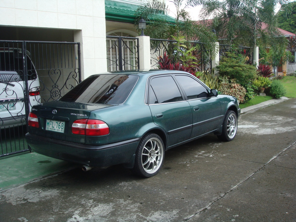 Edeleon815 1998 Toyota Corolla Specs Photos Modification