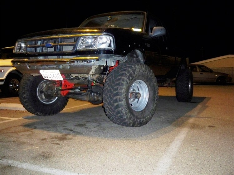 1998 ford ranger explorer v8 swap