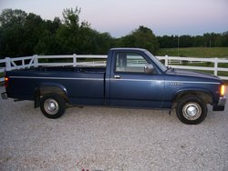88bluedak 1988 Dodge Dakota Regular Cab & Chassis