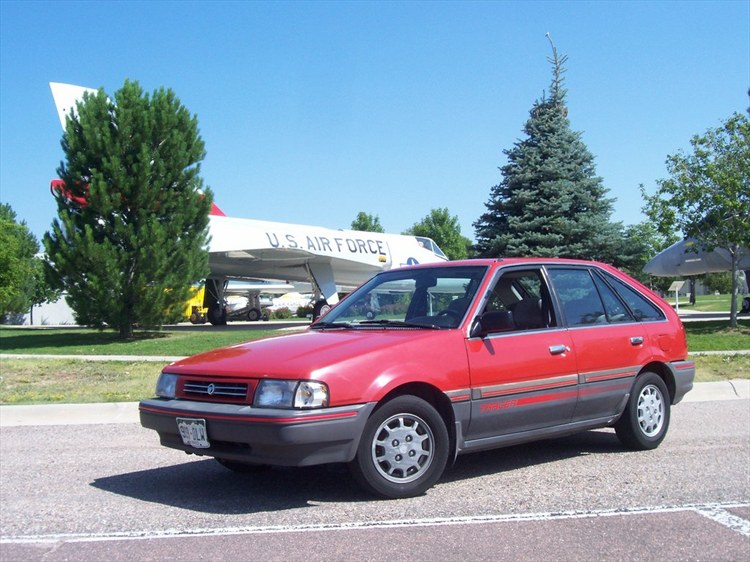 BREAKIN_NECKS 1989 Mercury Tracer 13628284