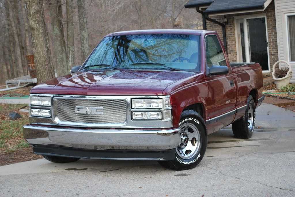 Gmc truck 1995 seria curb weight