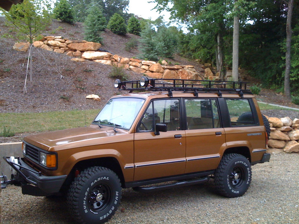 Roof Rack Lamborghini >> thewatson 1988 Isuzu Trooper Specs, Photos, Modification Info at CarDomain