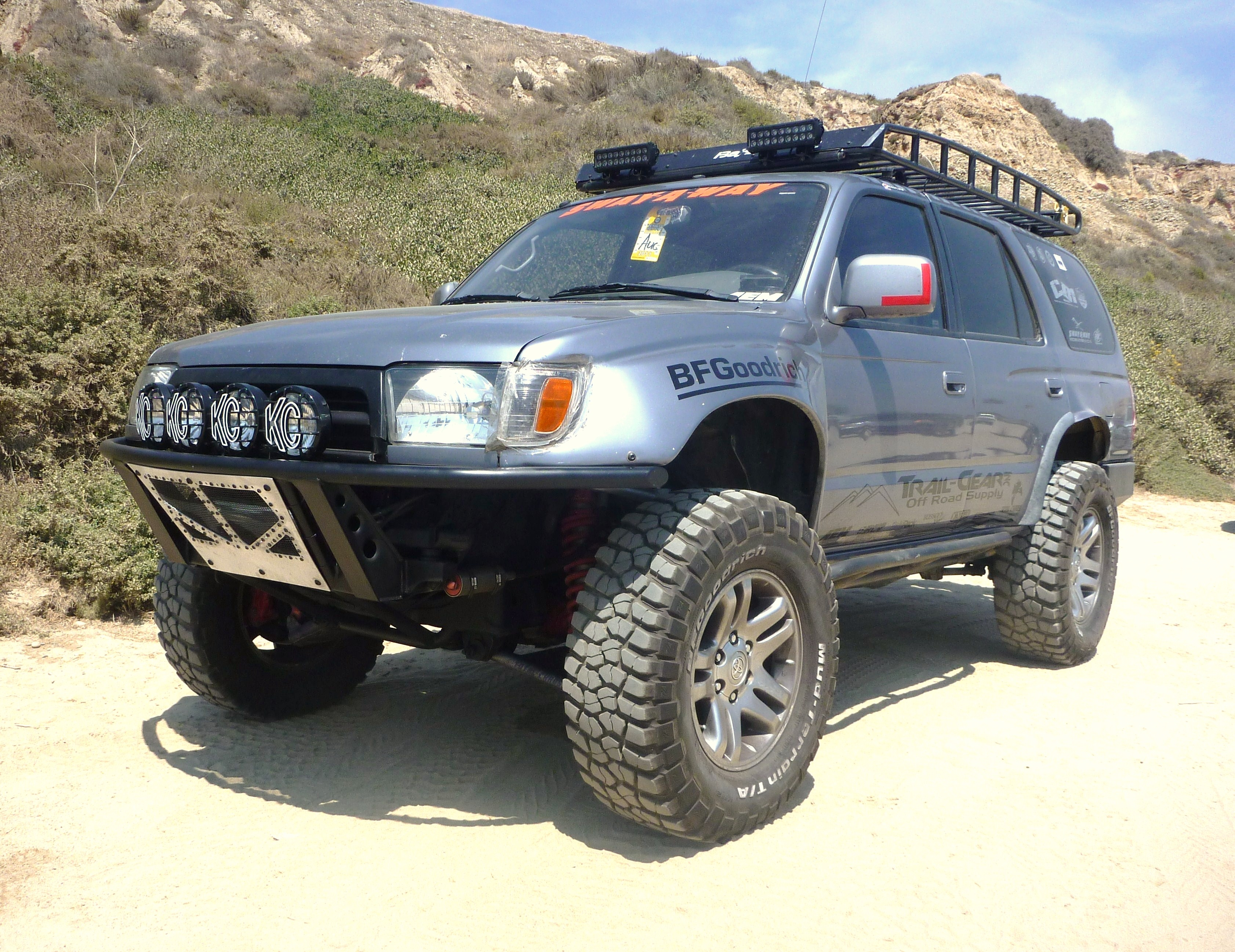 Chappysteve 1996 Toyota 4runner Specs Photos Modification Info At Brake Controller Installation Kit For A 1999 With Tow 33700724010 Original