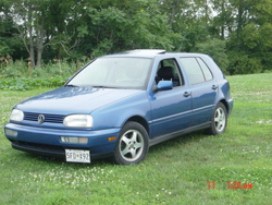 porcelainbluedubs 1998 Volkswagen Golf