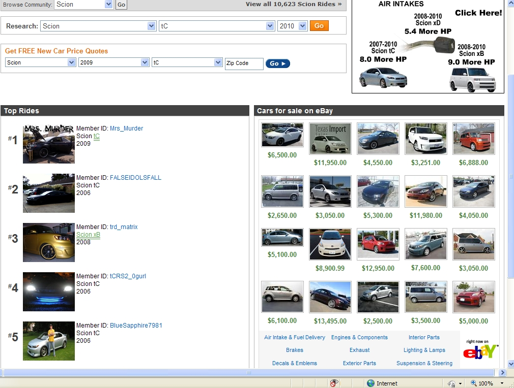 Another Mrs_Murder 2009 Scion tC post... - 13444981