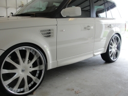 SnowWhiteRanges 2009 Land Rover Range Rover Sport 