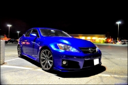 evilteos 2008 Lexus IS F