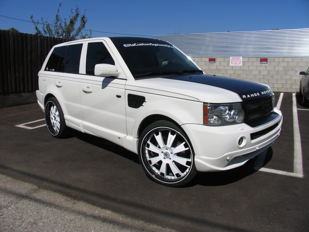 calivago20 2006 land rover range rover sport specs photos modification info at cardomain. Black Bedroom Furniture Sets. Home Design Ideas