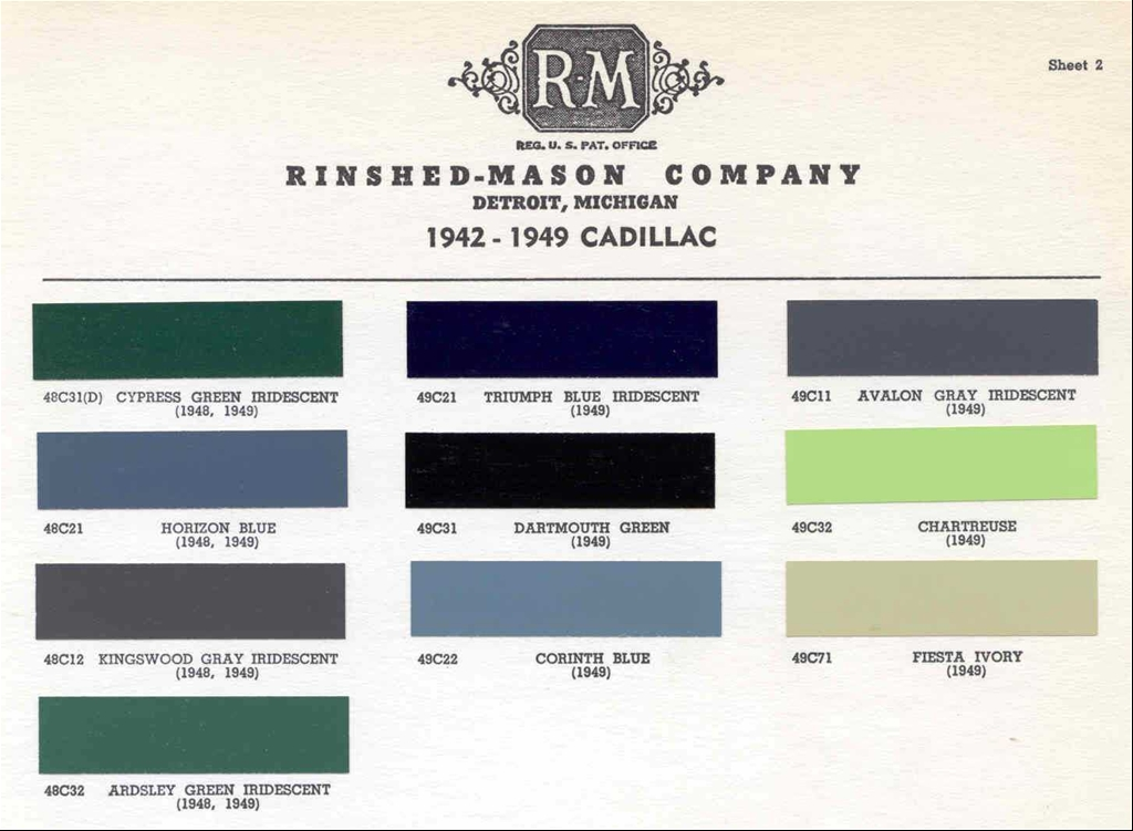 Names of shades of green color