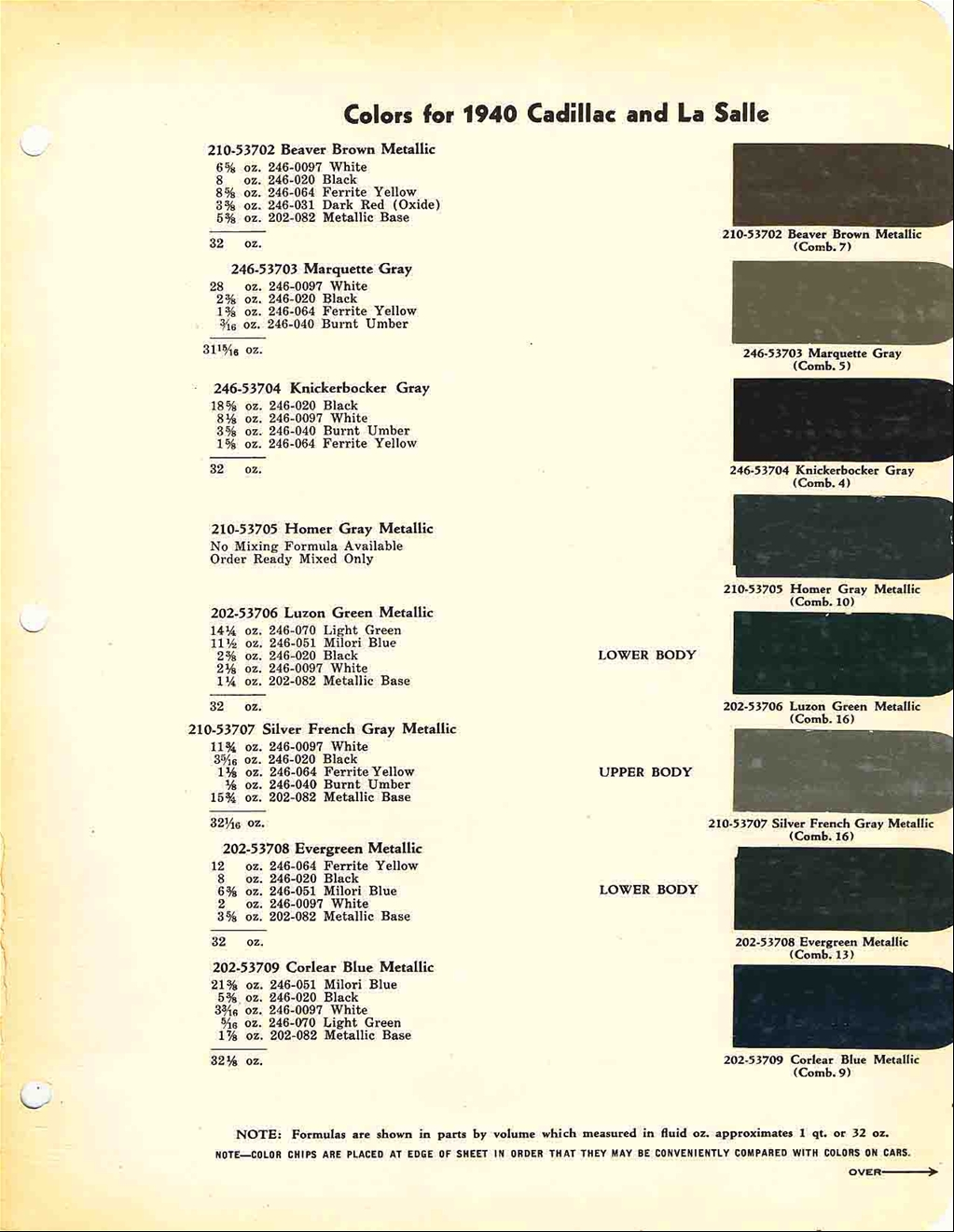 Official cadillac color names and paint codes archive cadillac official cadillac color names and paint codes archive cadillac forums cadillac owners forum nvjuhfo Choice Image