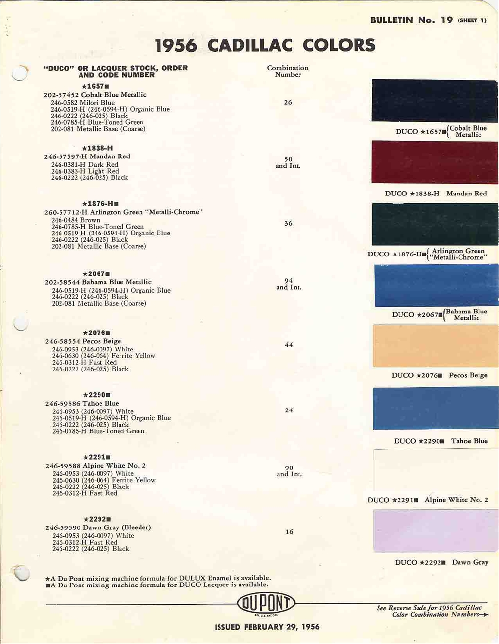 Official cadillac color names and paint codes page 4 re official cadillac color names and paint codes nvjuhfo Gallery