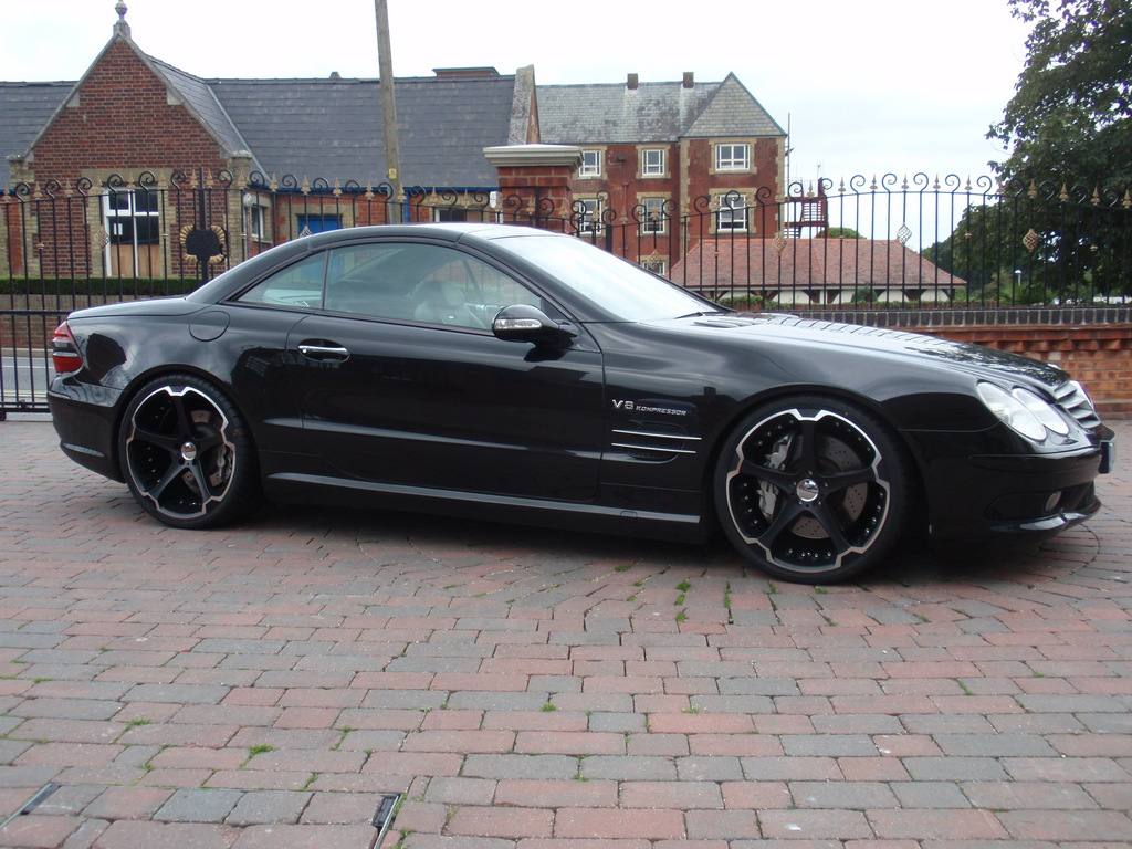 Rimcityuk 2004 mercedes benz sl class specs photos for Mercedes benz sl55 amg