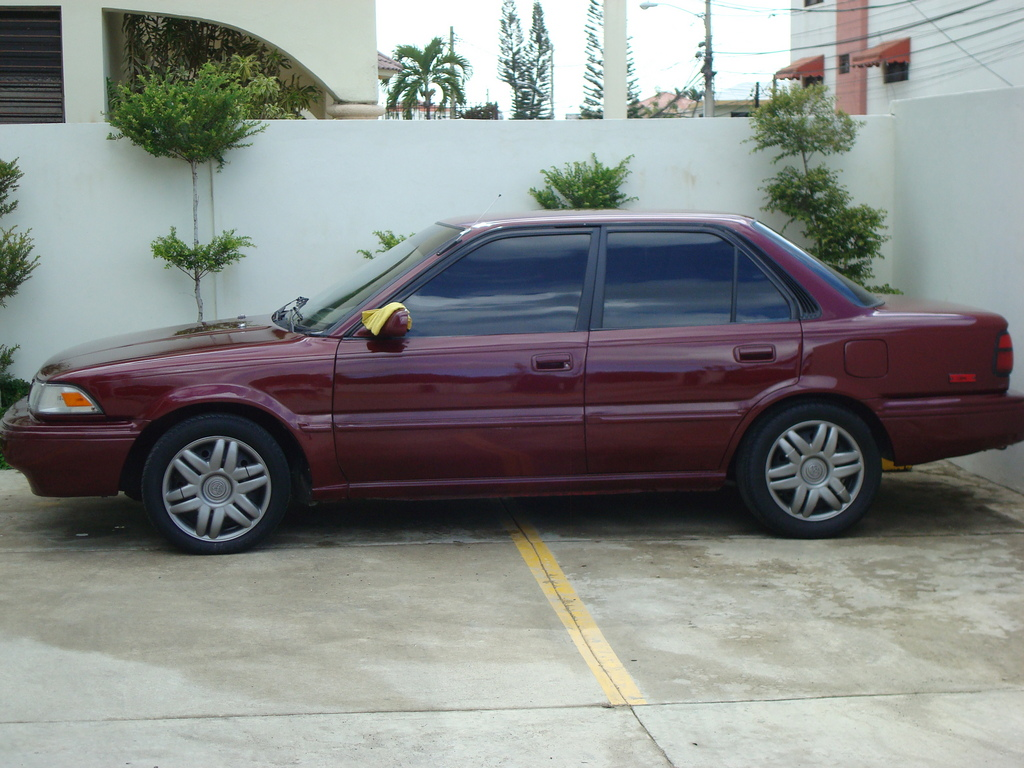 dominicano0304 39 s 1992 toyota corolla in santiago. Black Bedroom Furniture Sets. Home Design Ideas