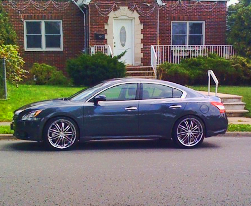 djwillie 39 s 2009 nissan maxima in paramus nj. Black Bedroom Furniture Sets. Home Design Ideas