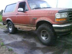 mudchicks 1995 Ford Bronco