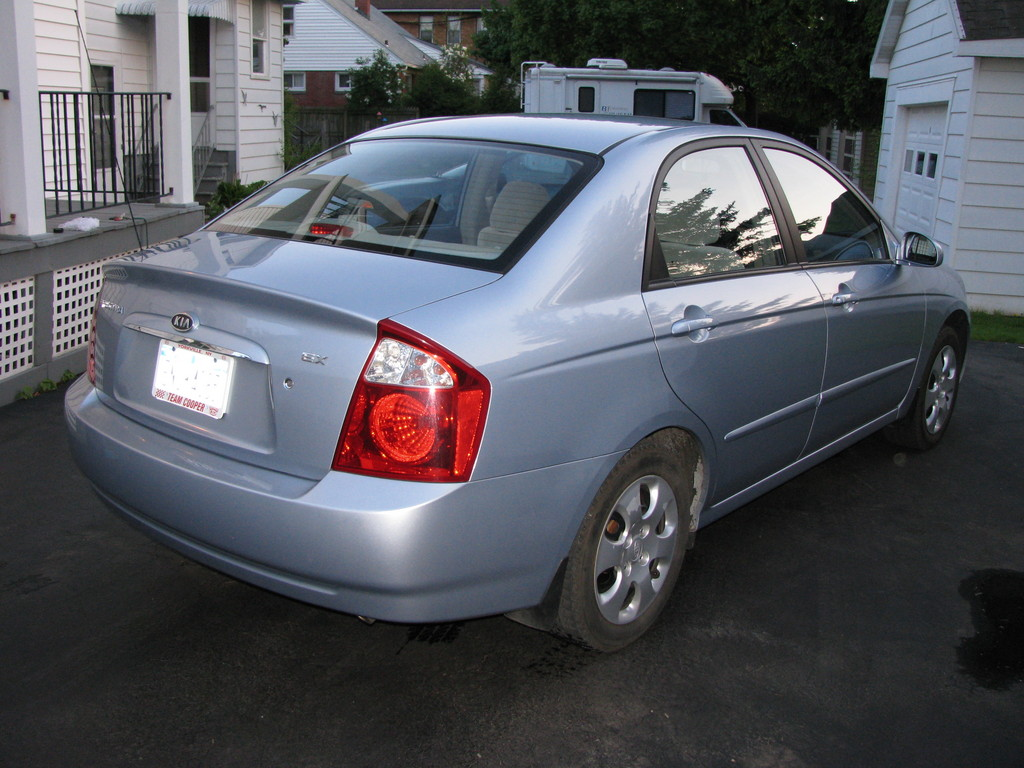 raybanks 2004 Kia Spectra Specs Photos Modification Info at