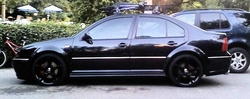 Black on Black 2005 jetta GLI