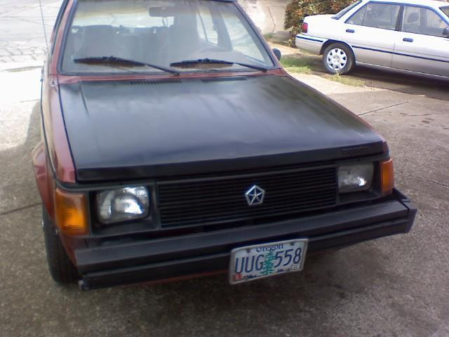 Another longhorns32 1989 Dodge Omni America post... - 13694079